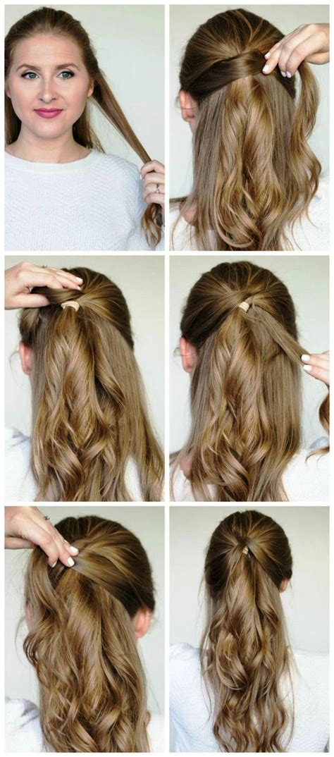 easy style for hair easy hairstyles for hair step by step 2018 for 5720