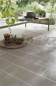 le carrelage colours loft anthracite sera parfait pour With wonderful materiaux exterieur de maison 18 20 photos de piscine en beton