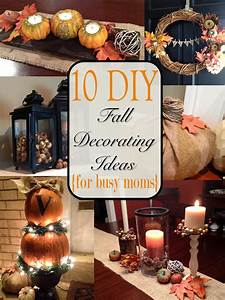 Two, It, Yourself, Fall, Home, Tour, 10, Diy, Fall, Decorating, Ideas, For, Busy, Moms