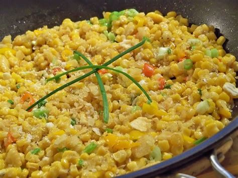 scalloped corn skillet scalloped corn gourmet day to day