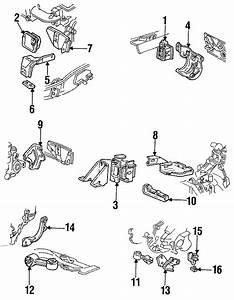 Pontiac Sunbird Mount  Transmission  Bracket  Auto  Engine