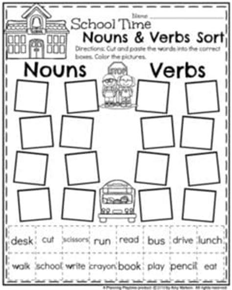 back to school grade worksheets planning playtime