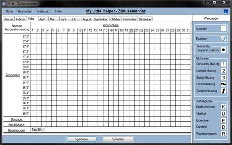mlh zykluskalender  bei freeware downloadcom