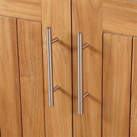 bathroom cabinet handles 36 quot artois teak outdoor kitchen cabinet outdoor 1026