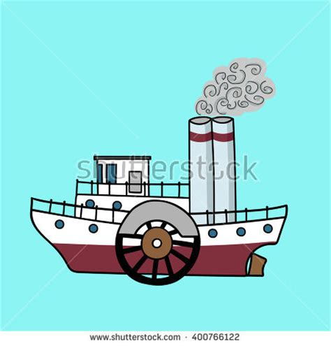 Steamboat Clipart by Steamboat Stock Images Royalty Free Images Vectors