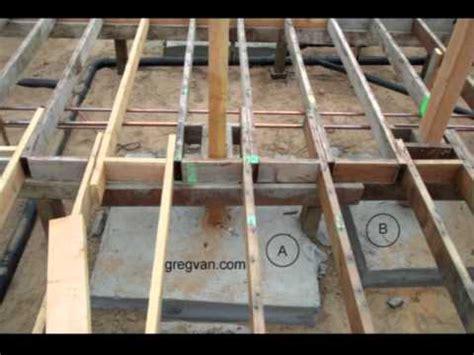 raised foundation concrete pier connection tip