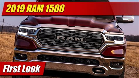 First Look 2019 Ram 1500 Testdriventv