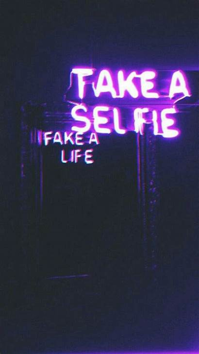 Aesthetic Neon Purple Wallpapers Glitch Violet Grunge