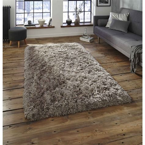 tapis poil beige polar beige shaggy rug braddicks furnishers ltd