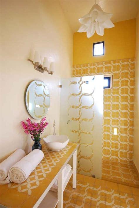 decoracion  ideas  mi hogar lindos banos en color