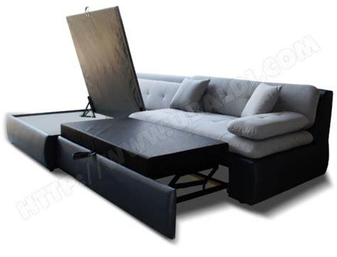 canape lit couchage avec tiroir