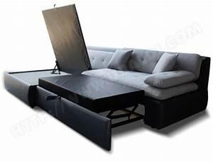 canape avec lit tiroir maison design wibliacom With canape convertible tiroir
