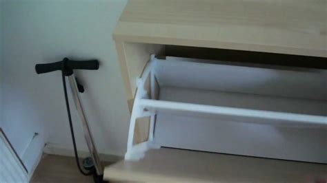 ikea bissa shoe cabinet a look at youtube