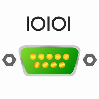 Serial Port Clipart Icon Clip Cable Icons