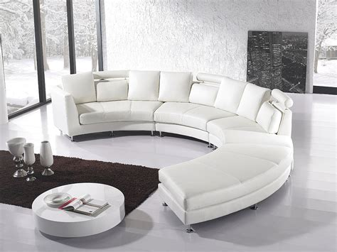 canapé rond design sectional sofa for unique seating alternative