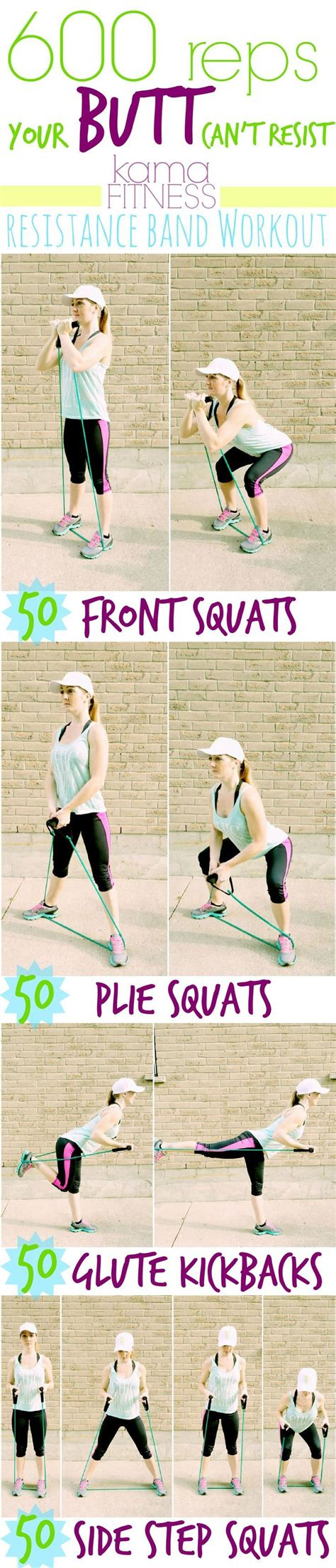 best fitness bands best 25 resistance band workouts ideas on