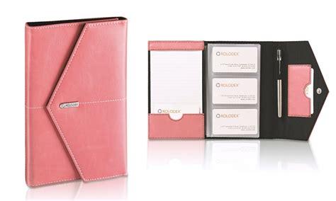 Rolodex Pink Business Card Book