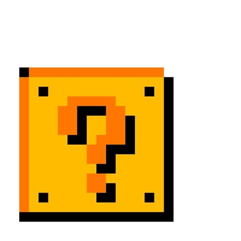 colorful mario question block l lucky block pixel search