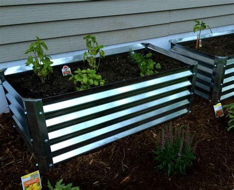 metal garden beds 17 best images about metal garden beds on
