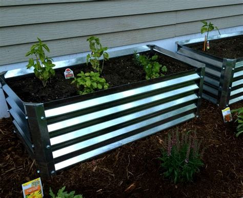 17 Best Images About Metal Garden Beds On Pinterest