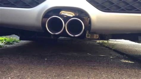 Amazing Sound Of Smart Roadster Brabus Exhaust System