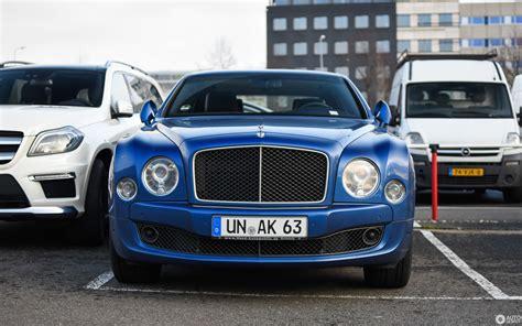 Bentley Mulsanne Speed 2015  5 February 2018 Autogespot