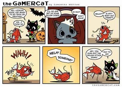 Gamercat Gamer Splash Cat Making Comic Comics