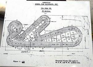 American Model Raceways Track Diagrams - Slot Car History