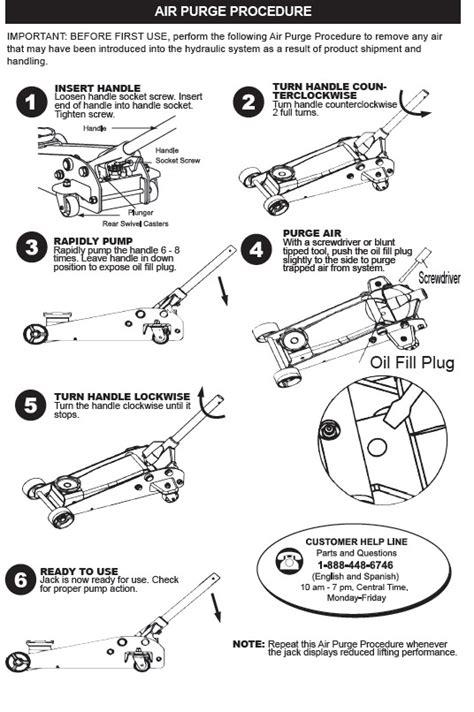 Michelin Floor Manual by Air Hydraulic Floor Parts Gurus Floor