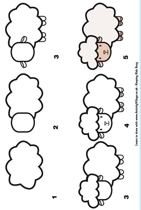 apprendre à cuisiner facilement atelier apprendre à dessiner dessiner le mouton et dessin