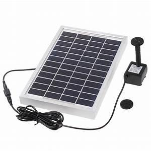 Solarpumpe Für Teich : solarpumpe kit mit freistehende schwimmende design diversifizierten d se solarwasserpumpe f r ~ Orissabook.com Haus und Dekorationen