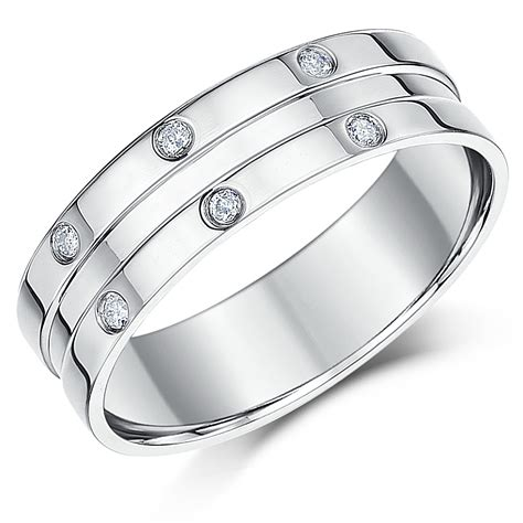 6mm palladium flat court s wedding ring palladium rings at elma uk jewellery