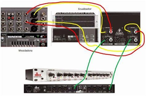 conexion de mezcladora a ecualizador y de ecualizador a crossover decoraci 243 n de casa me gusta