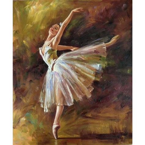 framed arts by edgar degas oil paintings of ballerina dancer tilting contemporary pop art