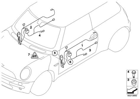 Mini Cooper Door Wiring Diagram by Mini R56 Lci Coupe Cooper Ece Vehicle Electrical System
