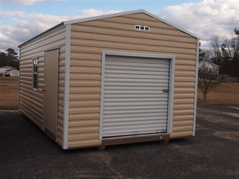 roll up doors for sheds utility shed with roll up door hometown sheds