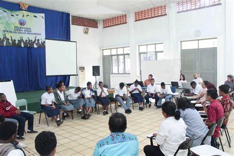 pelatihan guru  sekolah unggulan asmat sekolah anak