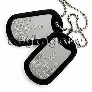 Dog Tags used by army soldiers