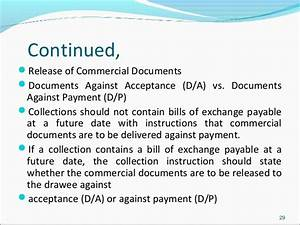ypip3 fead With documents against acceptance