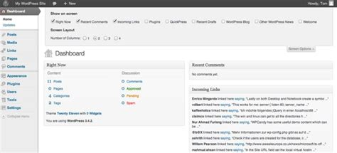 Getting Started With Your Wordpress Site's Settings