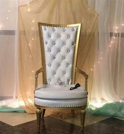 white and gold chair rental baby shower chair rental in