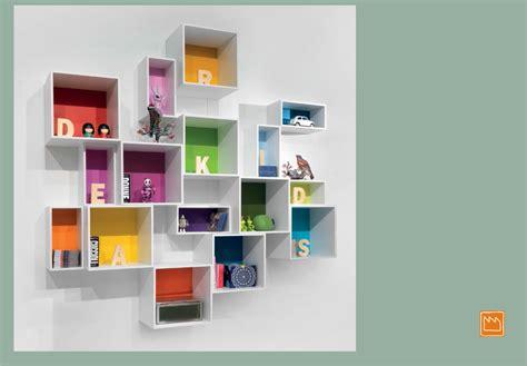 librerie pensili contenitori puzzle camerette per ragazzi