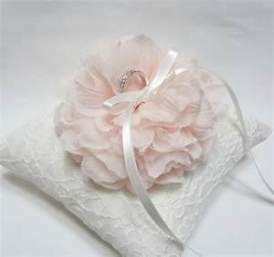 blush ring pillow ring bearer pillow wedding ring pillow With ring pillow wedding