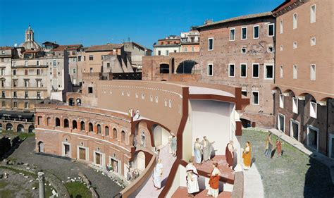 Trajan's Forum and Markets: History, Pictures and Information