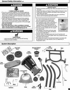 Coleman 8fa3 Users Manual 2910a100 Mosquito Deleto U2122