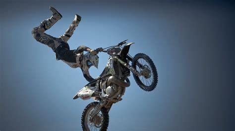 hd hintergrundbilder stunt motorrad motorradfahrer sport