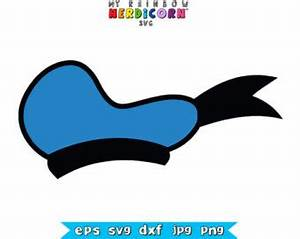 Donald Duck Hat Silhouette