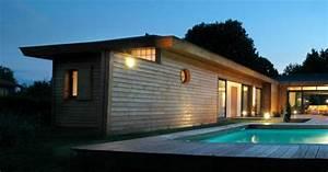 immobilier bassin d39arcachon With surface d une maison 7 maison bois plain pied type loft nos maisons ossatures