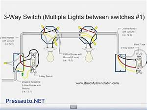 3 Way Wiring Diagram Multiple Lights  U2013 Vivresaville Com
