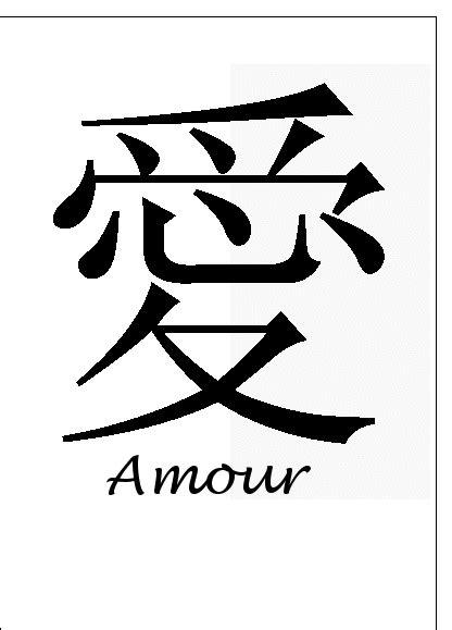 Carte Amour En Chinois Pour Envoyer Par La Poste, Sur